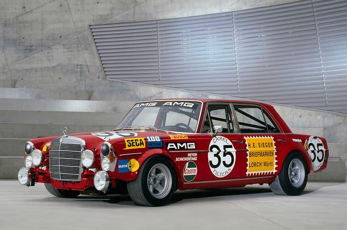 Mercedes 300 SEL AMG de competición