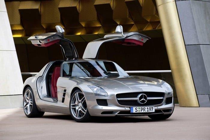 Mercedes SLS AMG Alas de Gaviota