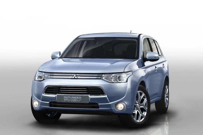 Imagen exterior Mitsubishi Outlander híbrido