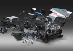Nissan ZEOD RC CAD