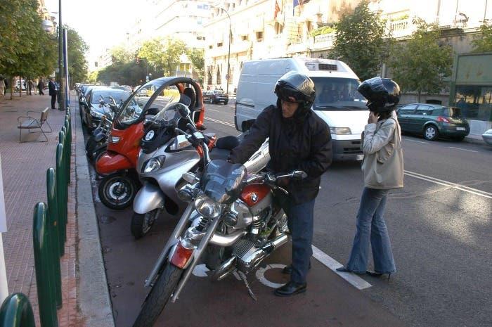 Párking de motos