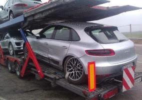 Segundo accidente del Porsche Macan