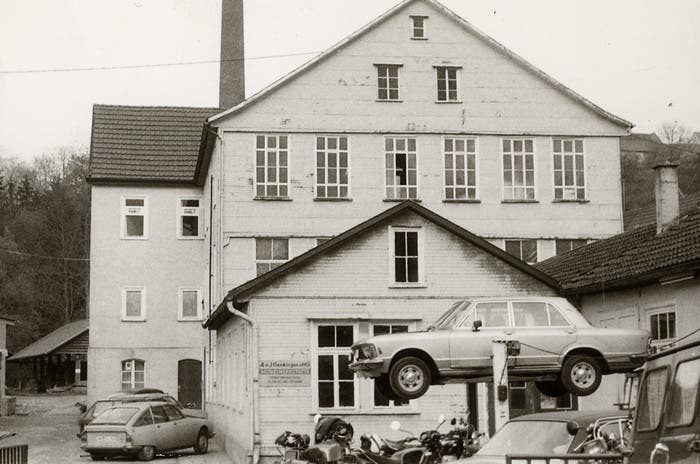 Instalaciones originarias de AMG