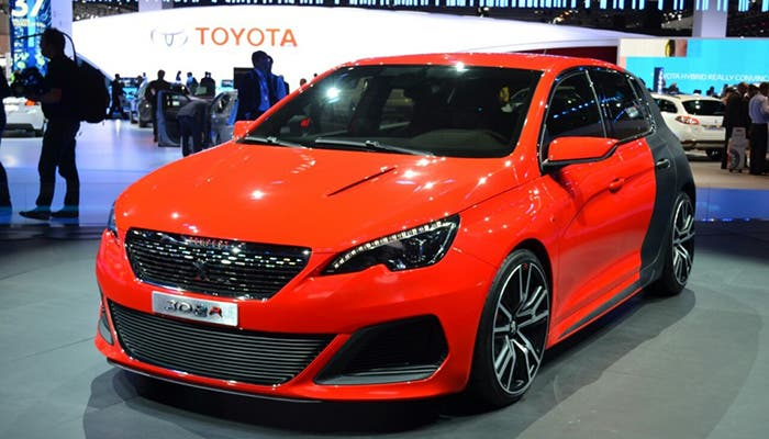 Peugeot 308 R Red