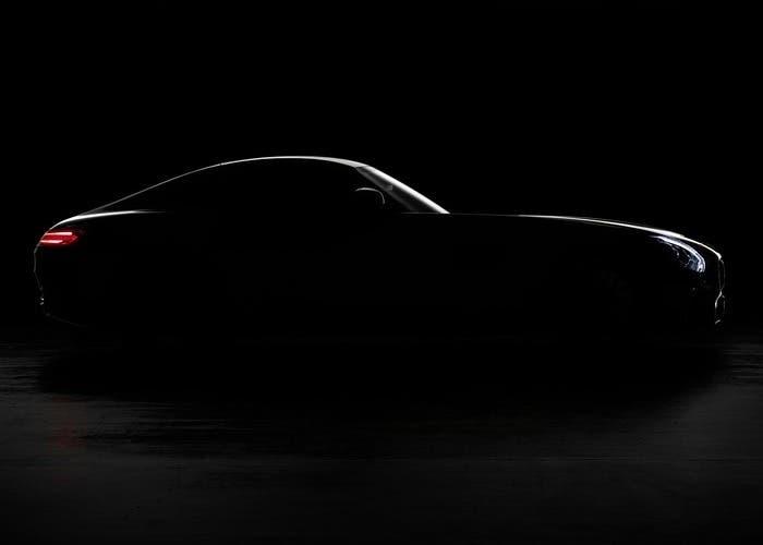 Teaser del AMG GT
