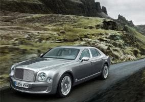 Foto de un Bentley Mulsanne