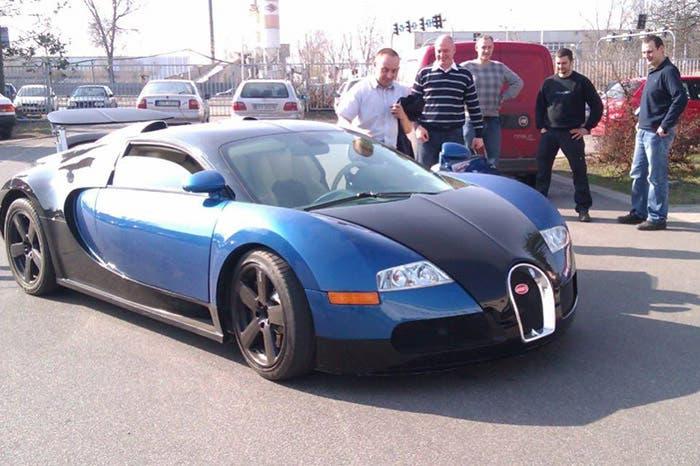 El Veyron ruso-alemán