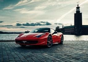 Frontal del Ferrari 458 Italia