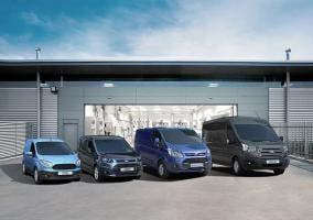 La nueva gama de vehículos Comerciales
