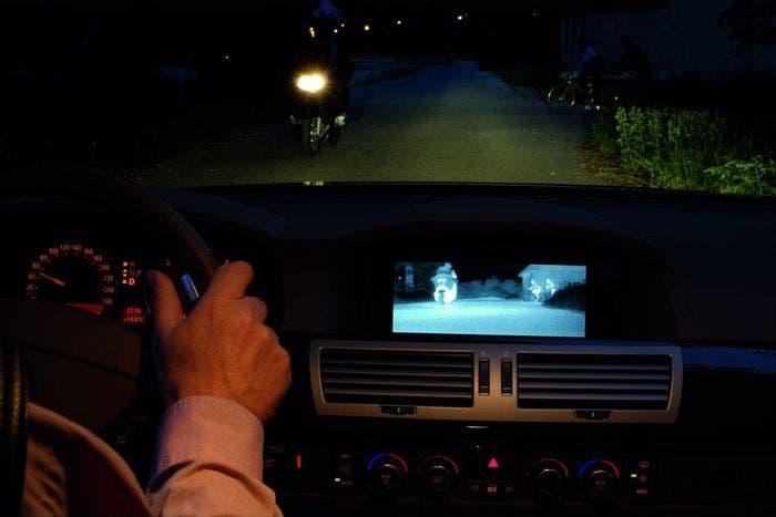 Visión nocturna infrarrojos