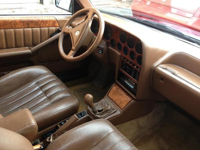 Interior Lancia Thema by Ferrari