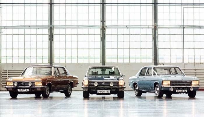 Los tres modelo de lujo de Opel