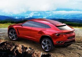 Trasera del Lamborghini Urus