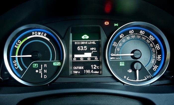 Medidor de potencia de Toyota