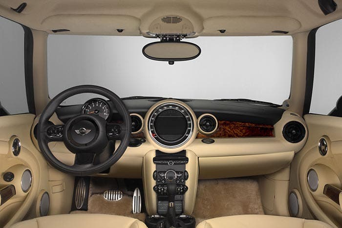 Interior del Mini Inspired by Goodwood