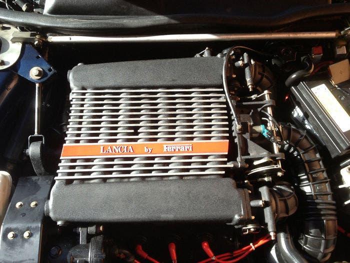 Motor Ferrari en un Lancia