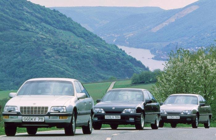Opel con motor catalizado