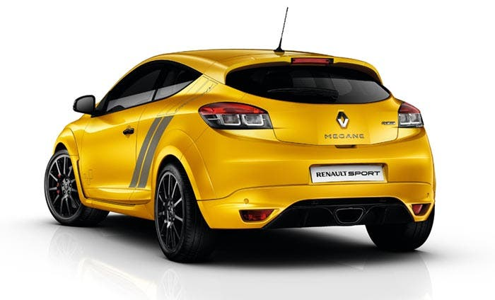 Trasera del Renault Mégane RS 275 Trophy
