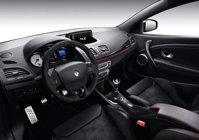 Interior del Renault Mégane RS 275 Trophy