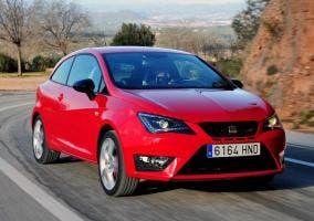 SEAT Ibiza Cupra rojo
