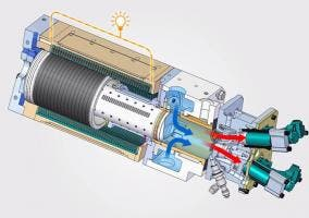 Motor monocilíndrico de Toyota