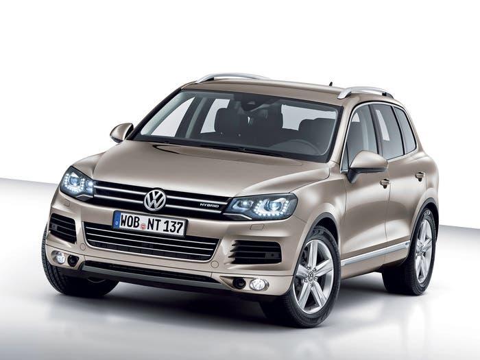 Versión híbrida del Volkswagen Touare