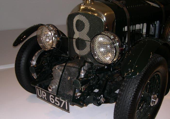 Supercharger de un Bentley de 1929