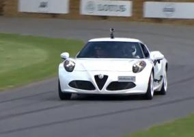 Alfa Romep 4C Goodwood