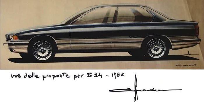 BMW Serie 5 prototipo