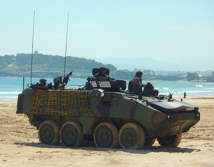 Mowag Piranha de la Infantería de Marina