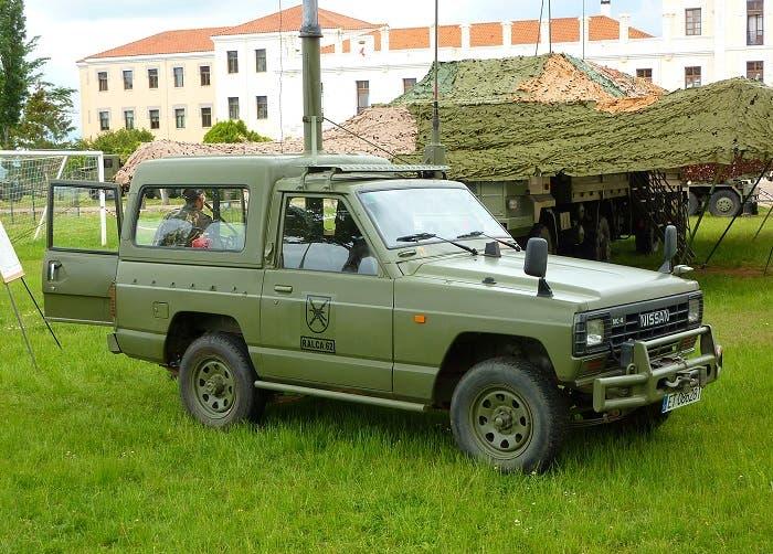 Nissan Patrol del éjército español
