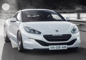 Peugeot RCZ blanco