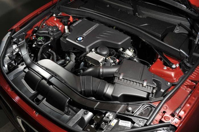Motor BMW turbo de 4 cilindros