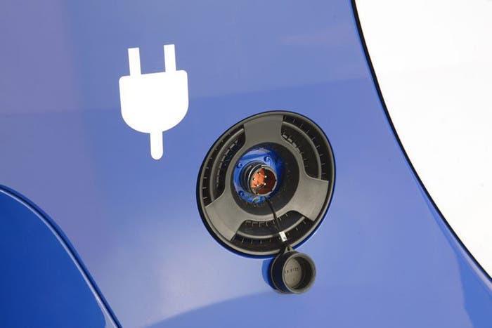 Carga batería de coche eléctrico