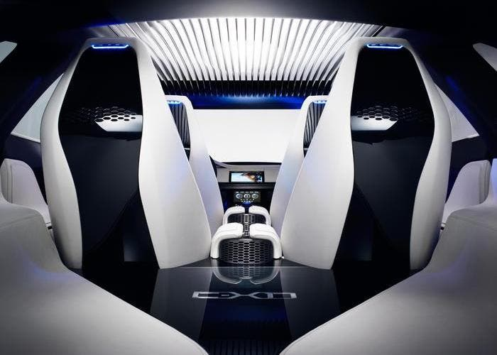 Interior Jaguar C-X17