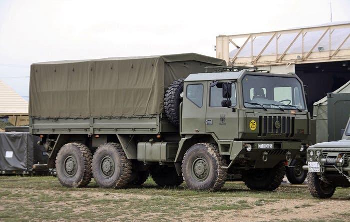 Camión Iveco M250 del ejército