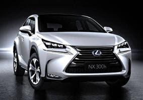 Lexus NX 300h frontal