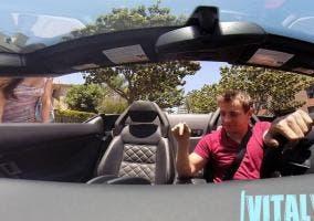 Ligando con un Lamborghini