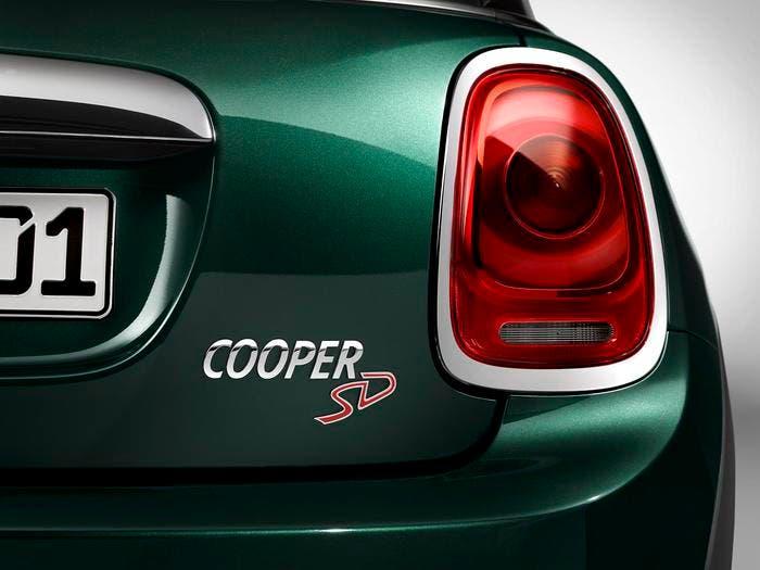 MINI Cooper SD vista trasera