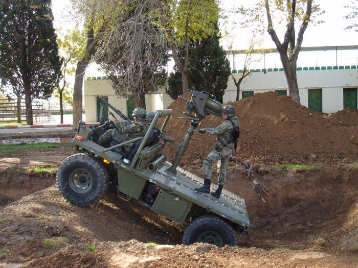 Mula mecánica del ejército español