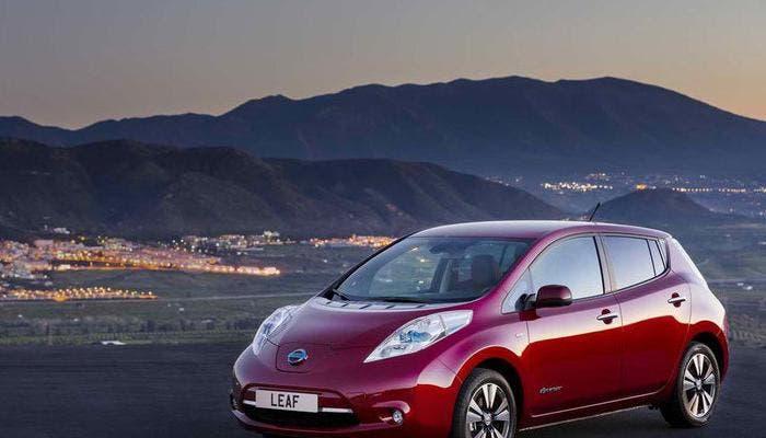 Vista del Nissan Leaf
