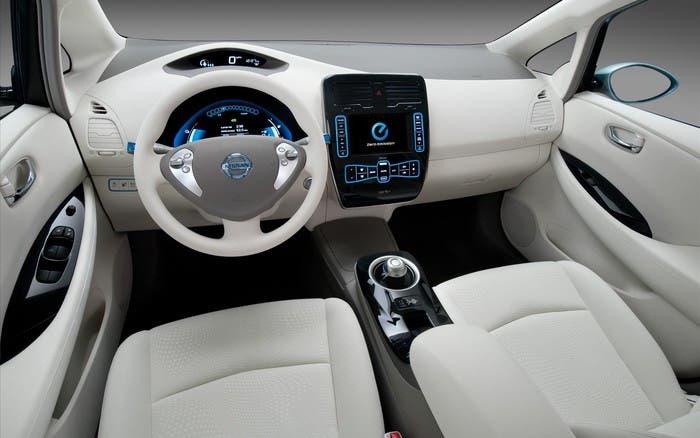 Detalles Nissan Leaf