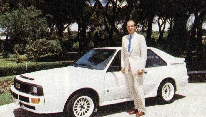 El Audi quattro del rey Juan Carlos