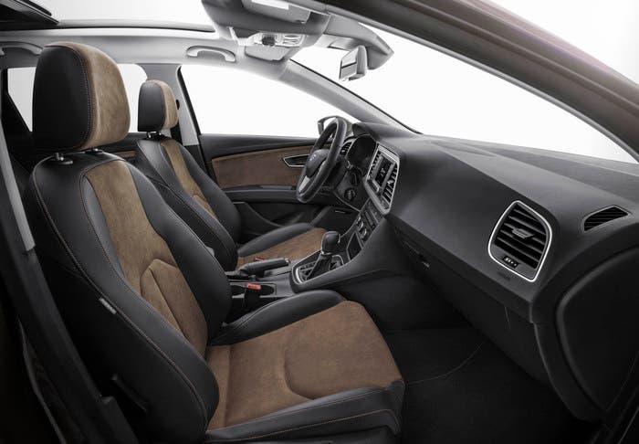 Seat León X-Perience ST vista interior