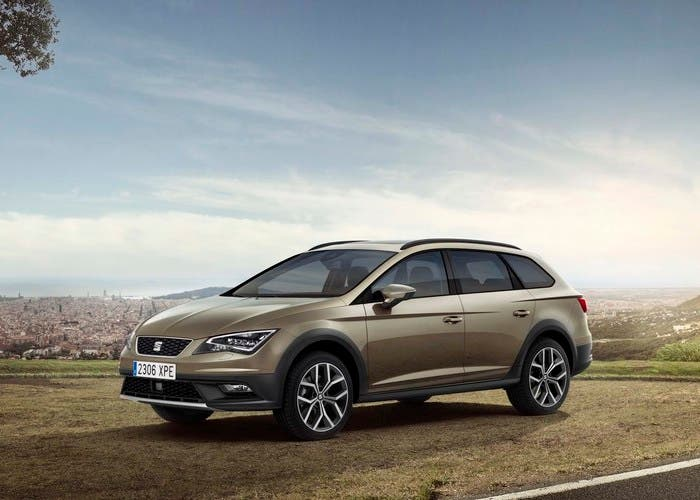 SEAT León X-Perience lateral