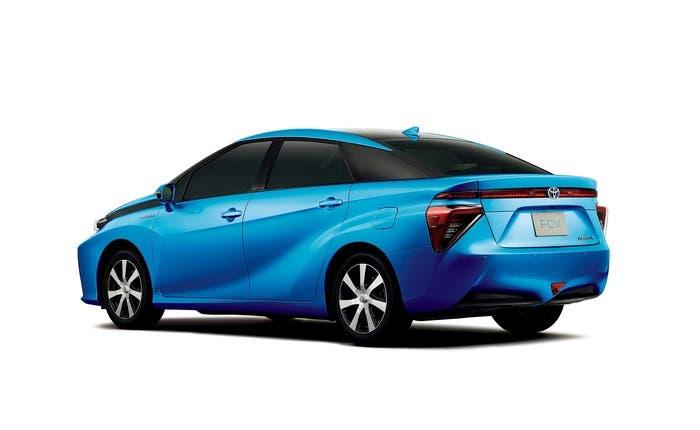Toyota FCV preserie