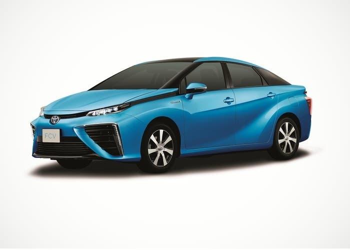 Toyota FCV de pila de combustible