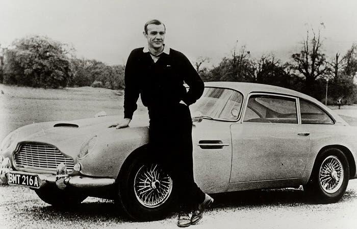 DB5 de 007 en Goldfinger