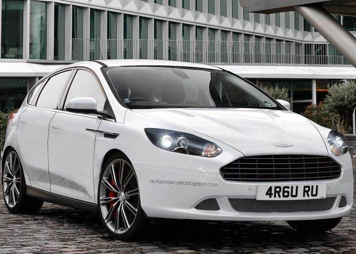 Imaginando un Aston Martin compacto