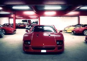 Ferrari F40 rojo